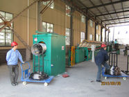 Çin Air Pressure Control Industrial Wire Descaling Machine With Strong Triangular Belt Fabrika