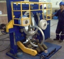 High Efficency Wire Packing Machine For Coiling / Wrapping 10m / Min Conveying Speed